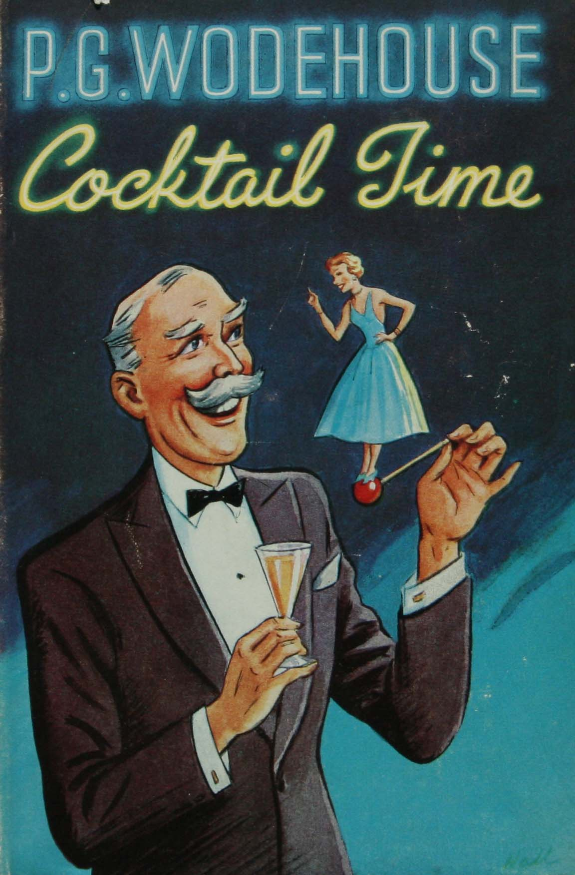 P G Wodehouse Cocktail time