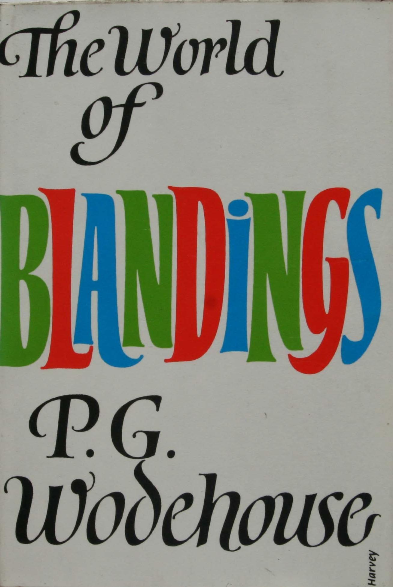 p g wodehouse the world of blandings