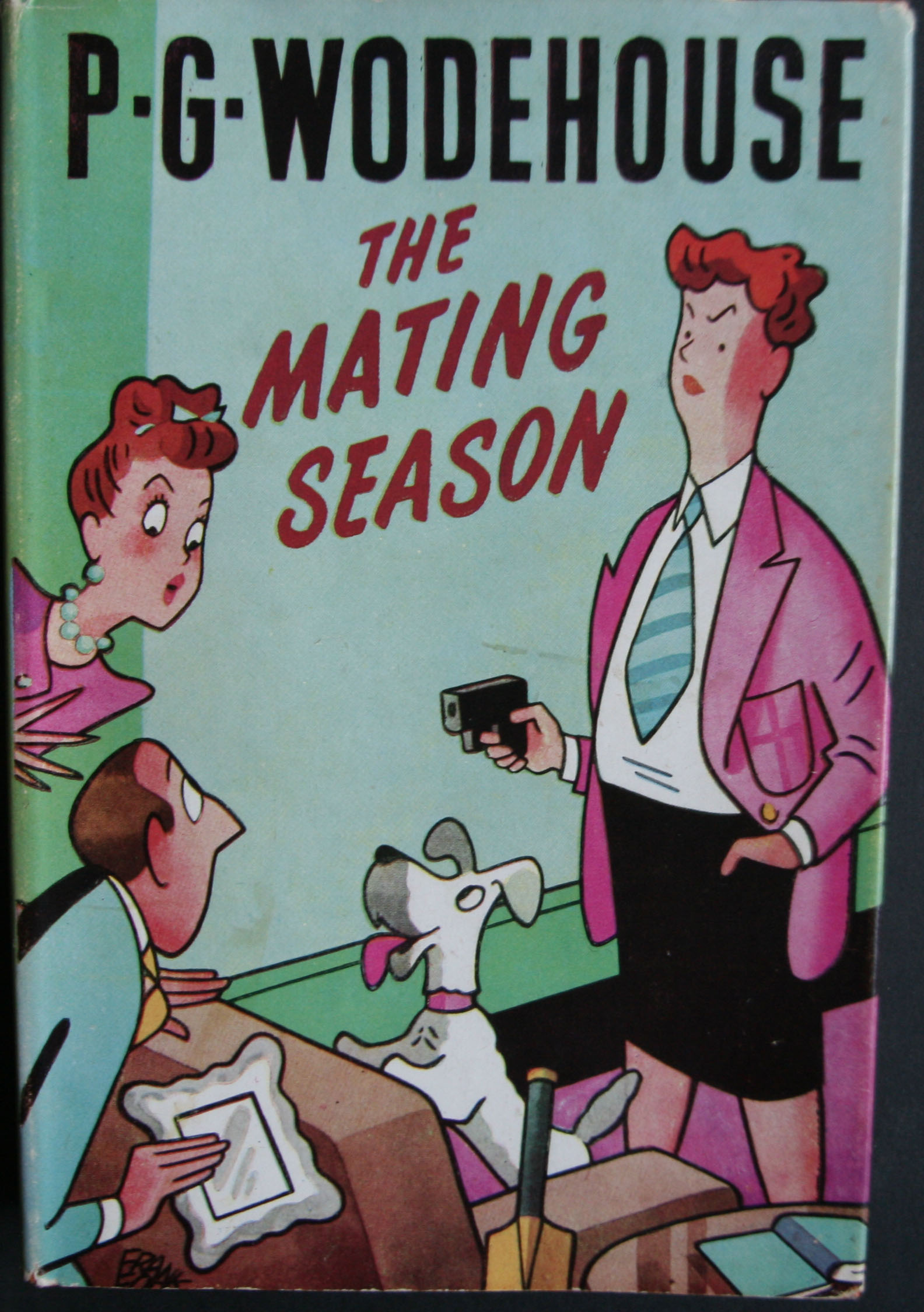 p g wodehouse the mating season