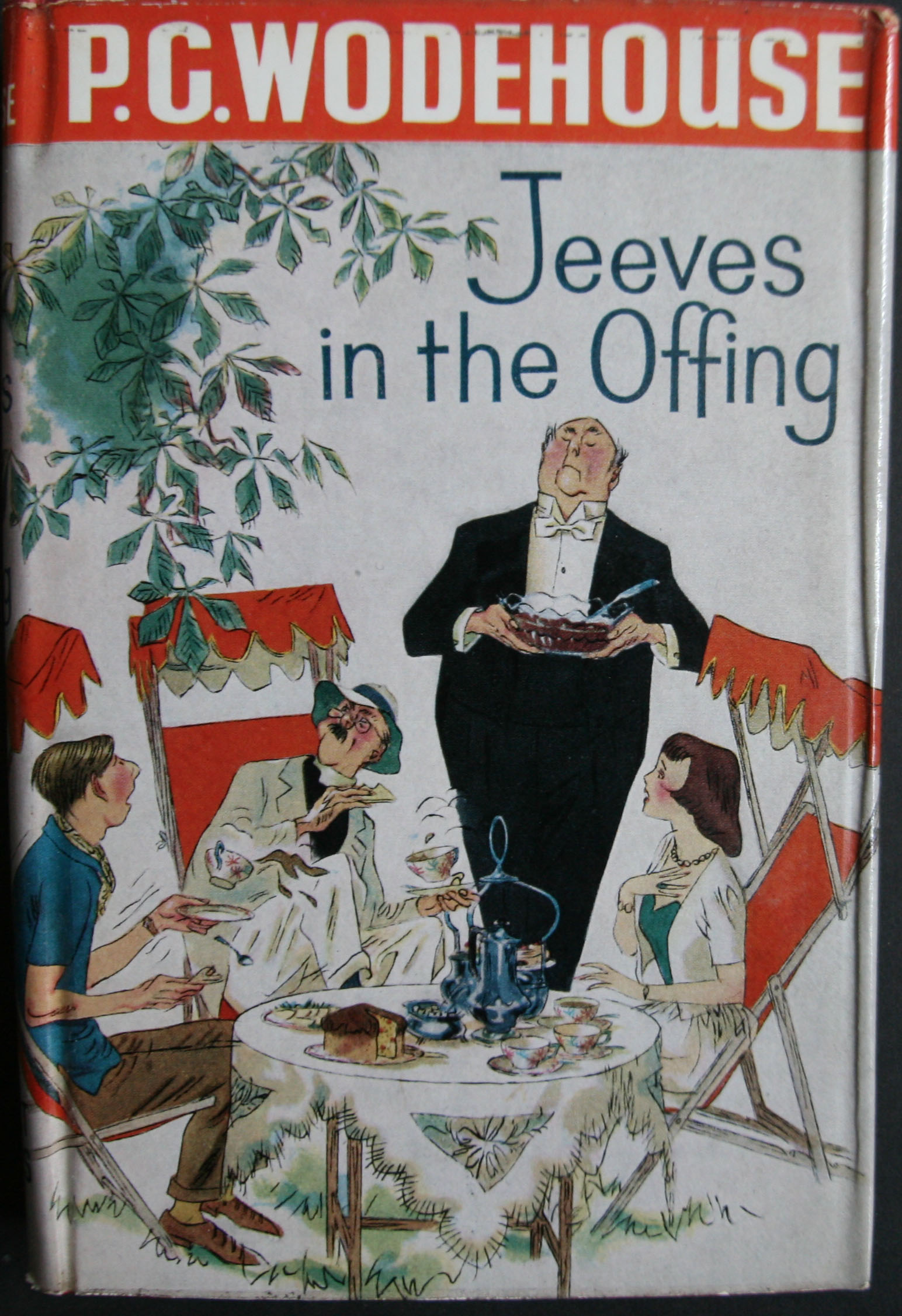 P G Wodehouse Jeeves in the offing