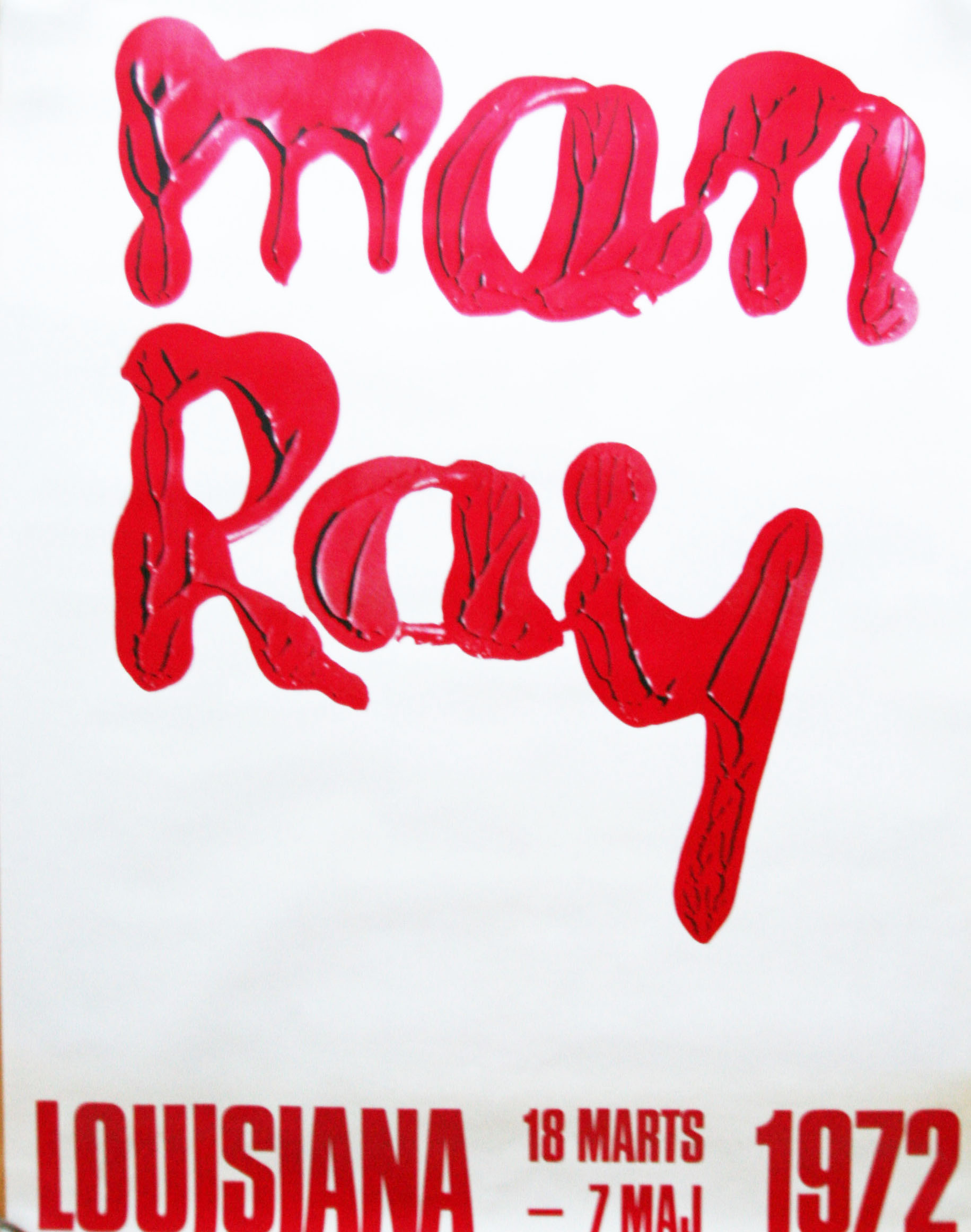 original man ray plakat louisiana