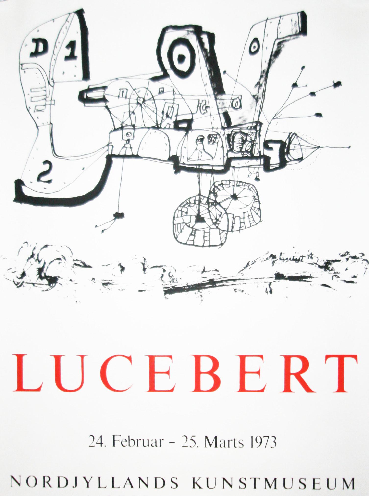 lucebert plakat nordjyllands kunstmuseum
