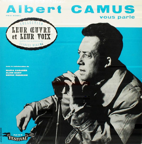 albert camus spoken word album