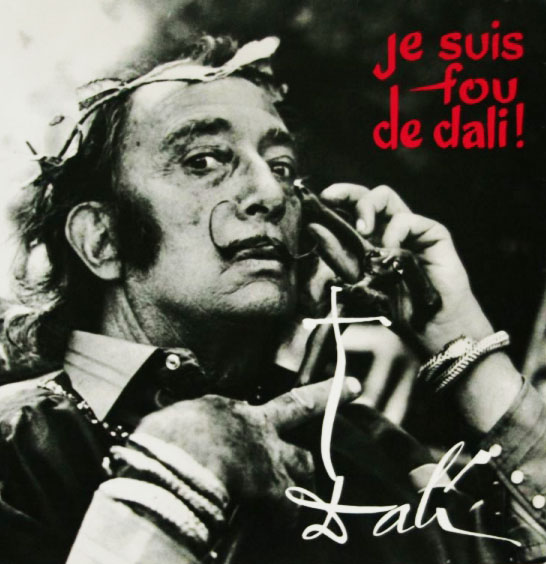 salvador dali spoken word album