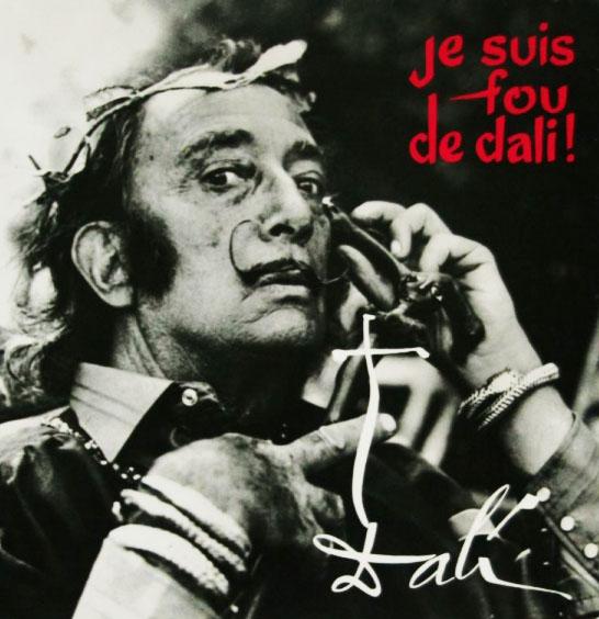 salvador dali spoken word album