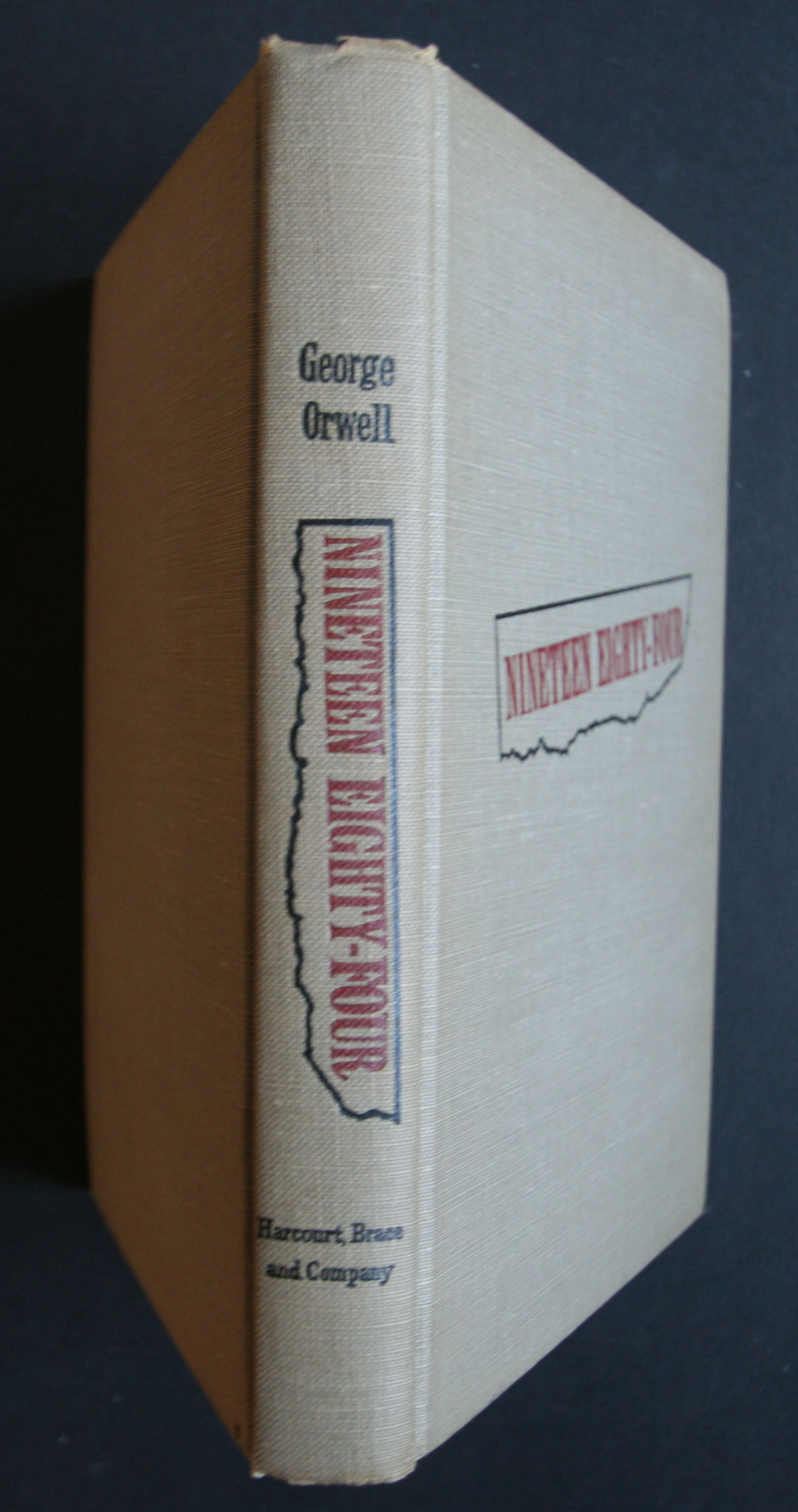 George Orwell 1984 US First edition